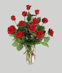 Sinop çiçek servisi , çiçekçi adresleri  11 adet kirmizi gül vazo halinde