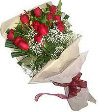 11 adet kirmizi güllerden özel buket  Sinop 14 şubat sevgililer günü çiçek
