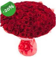 Özel mi Özel buket 101 adet kırmızı gül  Sinop güvenli kaliteli hızlı çiçek