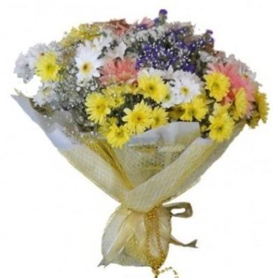 Karışık mevsim çiçeği  Sinop internetten çiçek satışı
