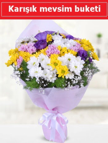 Karışık Kır Çiçeği Buketi  Sinop çiçek yolla