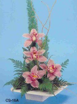 Sinop çiçek siparişi sitesi  vazoda 4 adet orkide