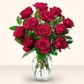 Sinop hediye çiçek yolla  10 adet gül cam yada mika vazo da
