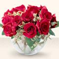 Sinop online çiçekçi , çiçek siparişi  mika yada cam içerisinde 10 gül - sevenler için ideal seçim -