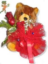 oyuncak ayi ve gül tanzim  Sinop uluslararası çiçek gönderme