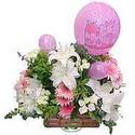 balon ve çiçeklerle tanzim  Sinop cicekciler , cicek siparisi