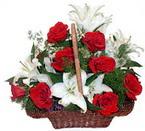 sepette gül ve kazablankalar   Sinop online çiçek gönderme sipariş
