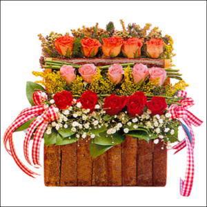 sandikta 3 kat güllerden   Sinop çiçek servisi , çiçekçi adresleri