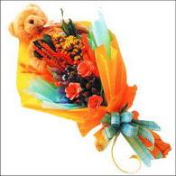 ayicik gül ve kir çiçekleri   Sinop online çiçek gönderme sipariş