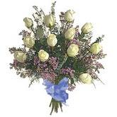 bir düzine beyaz gül buketi   Sinop ucuz çiçek gönder