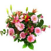 lilyum ve gerbera çiçekleri - çiçek seçimi -  Sinop çiçekçi mağazası