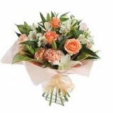 Sinop çiçekçiler  karisik buket tanzimi demeti - anneler günü çiçek buketi -