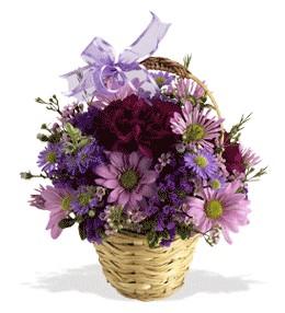 Sinop çiçek mağazası , çiçekçi adresleri  sepet içerisinde krizantem çiçekleri