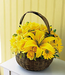 sepet içerisinde sarinin sihri  Sinop çiçek servisi , çiçekçi adresleri