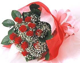 12 adet kirmizi gül buketi  Sinop çiçek online çiçek siparişi