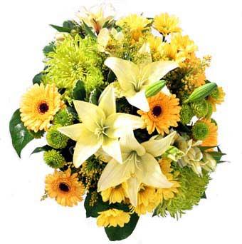 karisik mevsim demeti  Sinop çiçek online çiçek siparişi