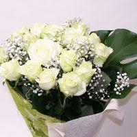 Sinop çiçek siparişi vermek  11 adet sade beyaz gül buketi