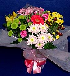 Sinop çiçek siparişi vermek  küçük karisik mevsim demeti