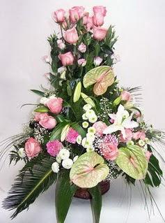Sinop internetten çiçek siparişi  özel üstü süper aranjman