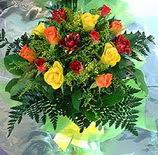 13 adet karisik gül buketi demeti   Sinop çiçek mağazası , çiçekçi adresleri