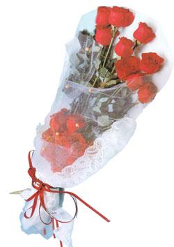 11 adet kirmizi güller buket tanzimi   Sinop cicek , cicekci