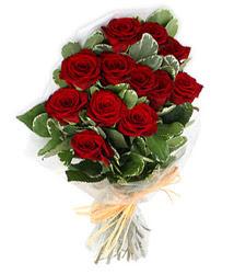 Sinop çiçek satışı  9 lu kirmizi gül buketi.