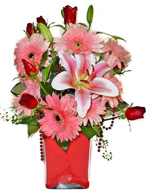 Sinop çiçek online çiçek siparişi  karisik cam yada mika vazoda mevsim çiçekleri mevsim demeti