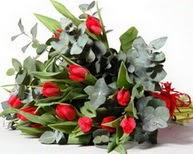 Sinop internetten çiçek satışı  11 adet kirmizi gül buketi özel günler için