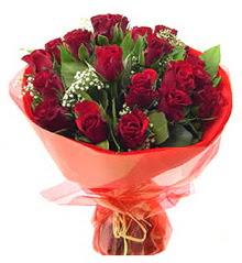 Sinop güvenli kaliteli hızlı çiçek  11 adet kimizi gülün ihtisami buket modeli