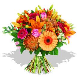 Sinop çiçek siparişi sitesi  Karisik kir çiçeklerinden görsel demet