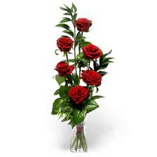 Sinop çiçek mağazası , çiçekçi adresleri  mika yada cam vazoda 6 adet essiz gül