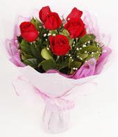 9 adet kaliteli görsel kirmizi gül  Sinop çiçekçi mağazası