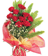 11 adet kaliteli görsel kirmizi gül  Sinop internetten çiçek satışı