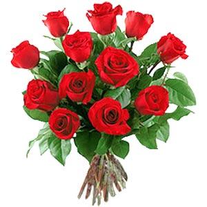 11 adet bakara kirmizi gül buketi  Sinop çiçek yolla