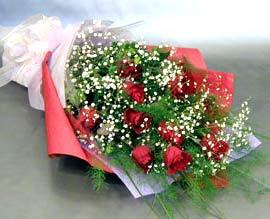 10 adet kirmizi gül çiçegi gönder  Sinop güvenli kaliteli hızlı çiçek