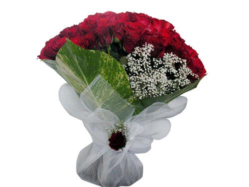 25 adet kirmizi gül görsel çiçek modeli  Sinop çiçek yolla , çiçek gönder , çiçekçi