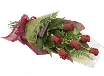 ucuz çiçek siparisi 6 adet kirmizi gül buket  Sinop cicek , cicekci