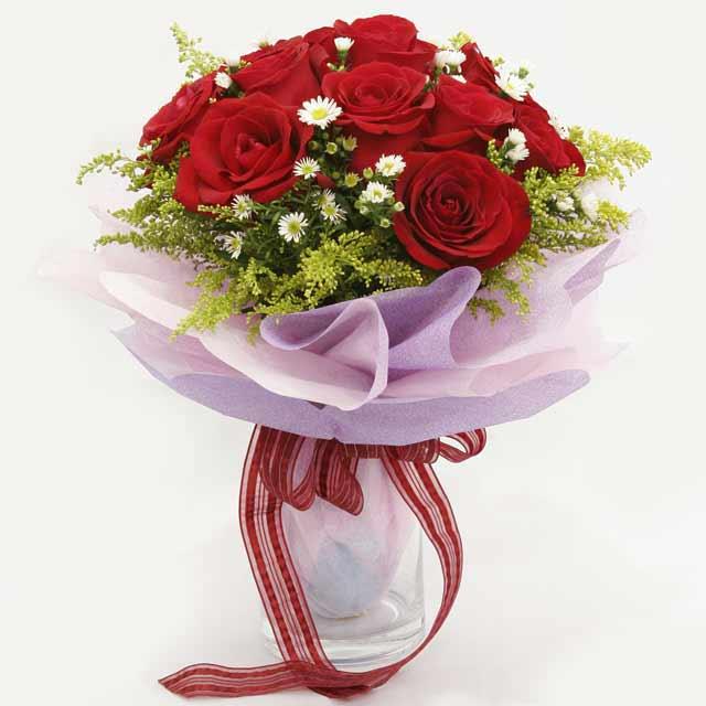 Çiçek gönderme estetikliginiz 11 gül buket  Sinop online çiçek gönderme sipariş