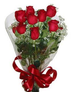 Çiçek sade gül buketi 7 güllü buket  Sinop hediye sevgilime hediye çiçek