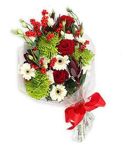 Karisik mevsim buketi çiçek tanzimi  Sinop 14 şubat sevgililer günü çiçek