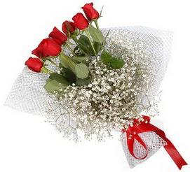 7 adet essiz kalitede kirmizi gül buketi  Sinop yurtiçi ve yurtdışı çiçek siparişi