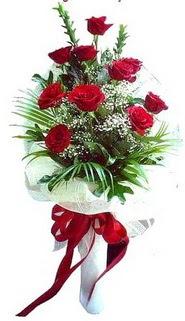 Sinop internetten çiçek siparişi  10 adet kirmizi gül buketi demeti