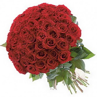 Sinop çiçek yolla  101 adet kırmızı gül buketi modeli