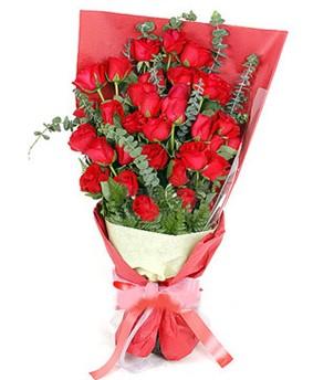 Sinop çiçekçi mağazası  37 adet kırmızı güllerden buket