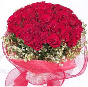 Sinop çiçekçi telefonları  29 adet kırmızı gülden buket