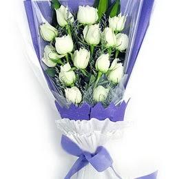 Sinop online çiçek gönderme sipariş  11 adet beyaz gül buket modeli