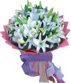 7 dal cazablanca görsel buketi  Sinop online çiçek gönderme sipariş