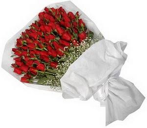 Sinop çiçek , çiçekçi , çiçekçilik  51 adet kırmızı gül buket çiçeği
