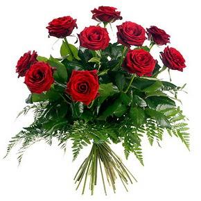 Sinop çiçekçi mağazası  10 adet kırmızı gülden buket
