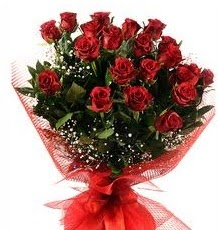 İlginç Hediye 21 Adet kırmızı gül  Sinop 14 şubat sevgililer günü çiçek